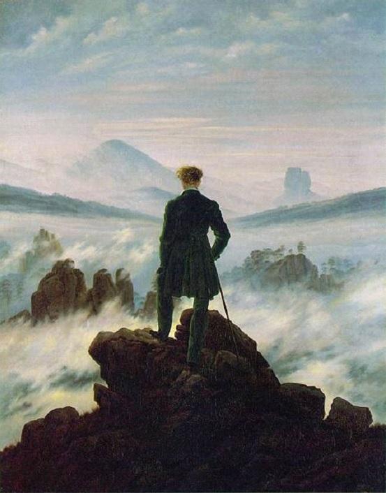Der Wanderer übder dem Nebelmeer