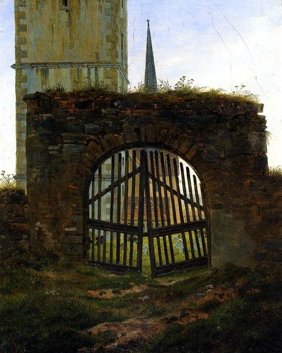 Das Friedhoftstor