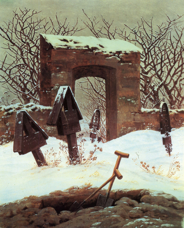 Friedhof im Schnee