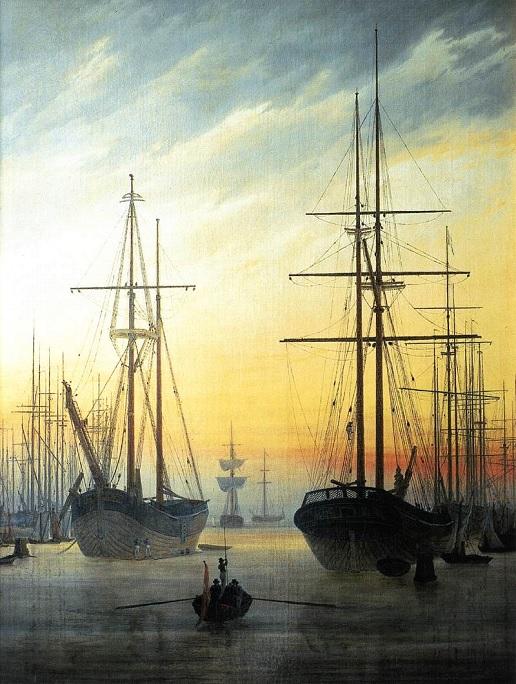 Ansicht eines Hafens