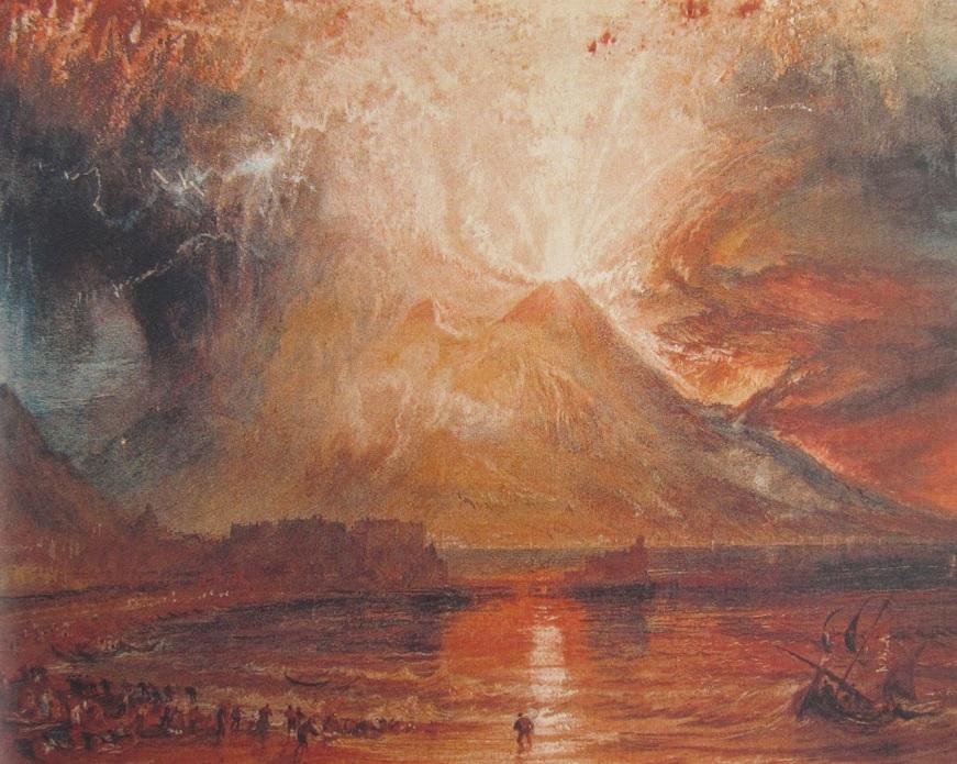 The Outbreak of Vesuv